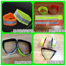 2016 China new design 3m elastic reflective armband